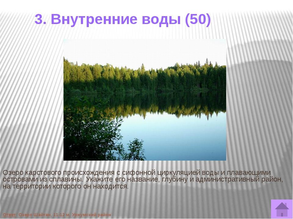 4. Животные (30) На зоогеграфической карте атласа Кировской области, изданног...