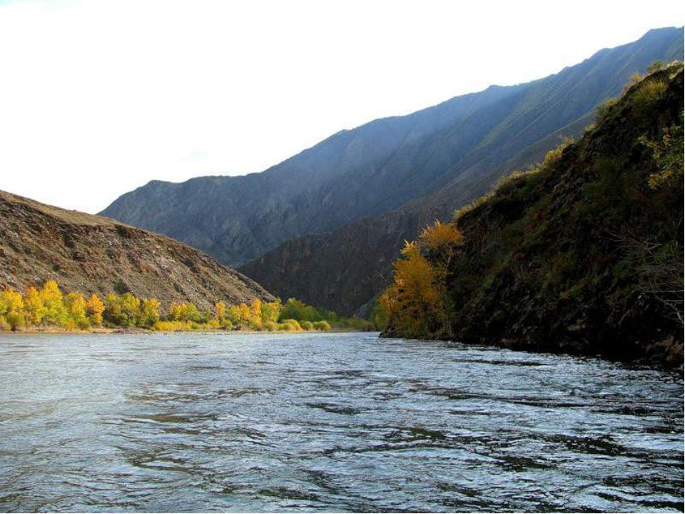 фото реки енисей в туве