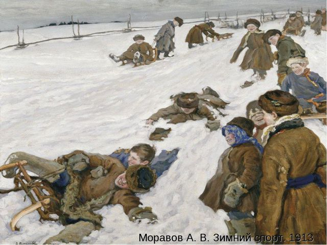 Моравов А. В. Зимний спорт. 1913 Моравов А. В. Зимний спорт. 1913