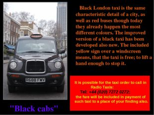 """""""Black cabs"""" Black London taxi is the same characteristic detail of a city, a"""