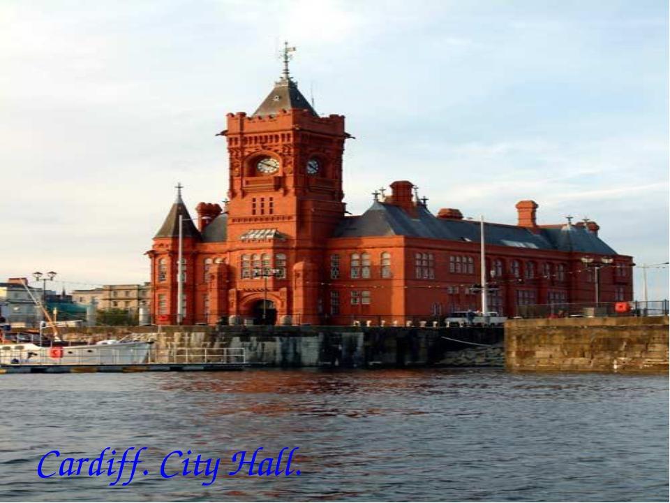 Cardiff. City Hall.