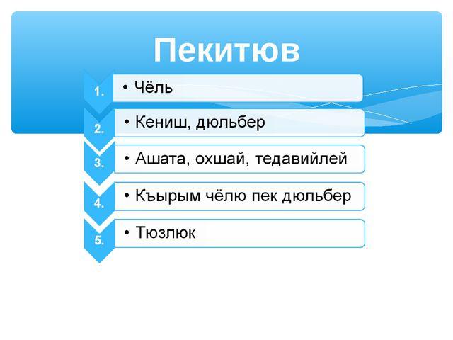 Пекитюв