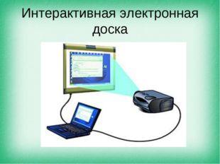 Интерактивная электронная доска