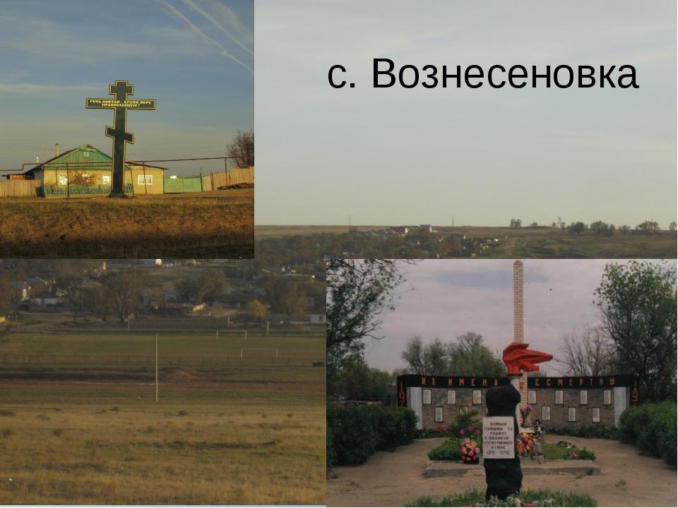 с. Вознесеновка