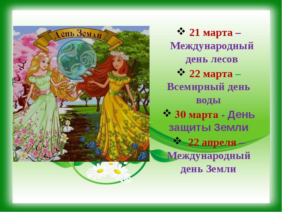 Сценарий на праздник день леса