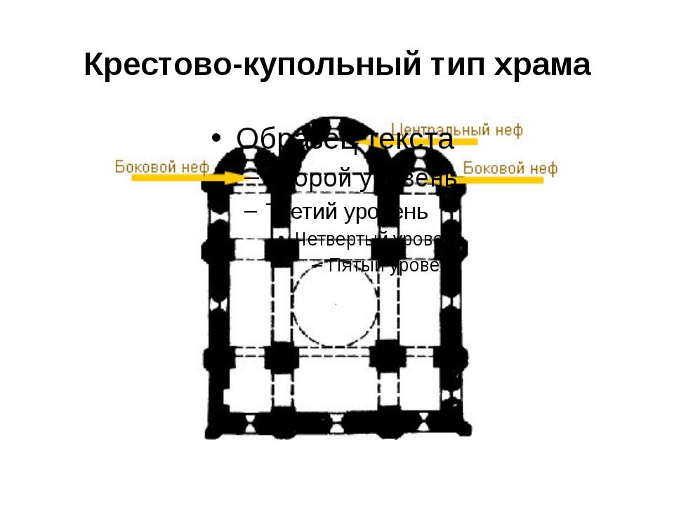 Крестово-купольный тип храма