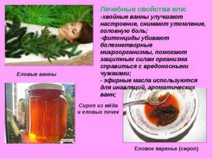 Сироп из мёда и еловых почек Еловое варенье (сироп) Еловые ванны Лечебные св