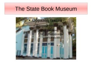 The State Book Museum