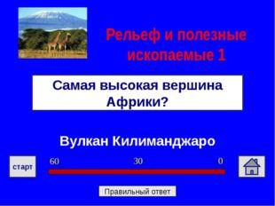 Сахара Самая большая пустыня Африки и всей планеты? Природные зоны 1 0 30 60