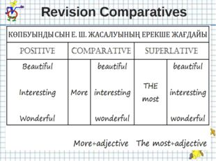 Revision Comparatives