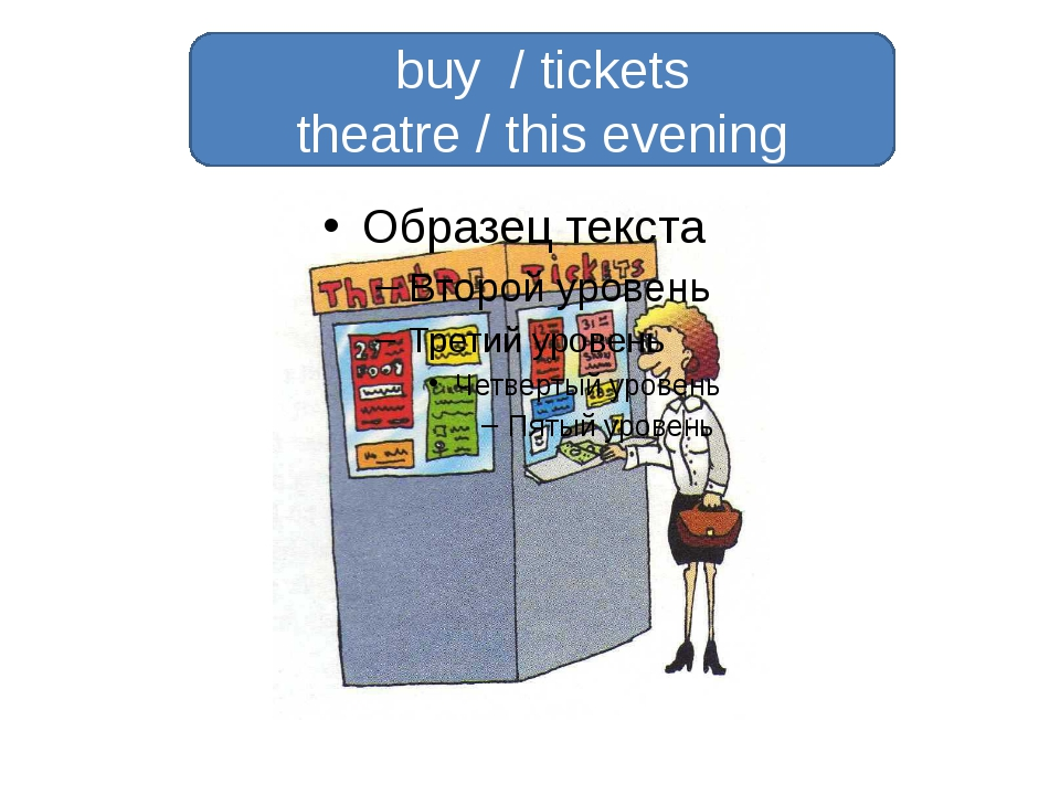 buy / tickets theatre / this evening