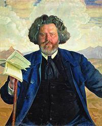волошин б.м кустодиев портретв 1924 год.jpg