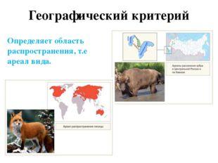 Структура вида Виды не смешиваются, т.к. имеют разные ареалы обитания различа