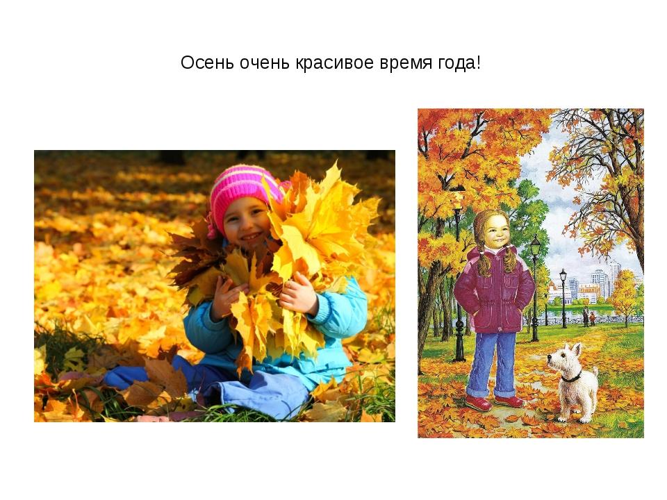 Осень очень красивое время года!
