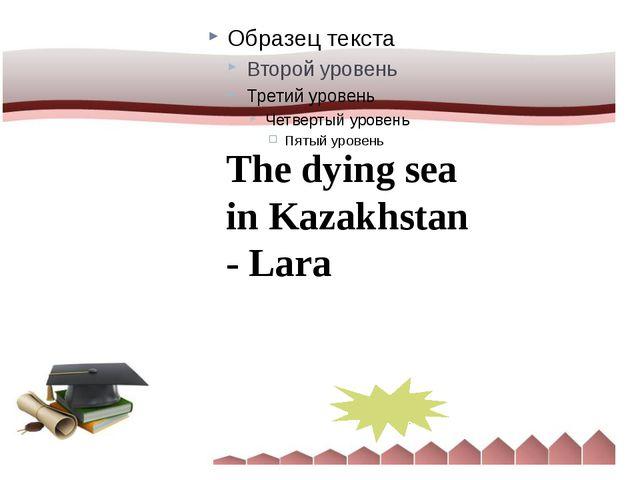 The dying sea in Kazakhstan - Lara Aral