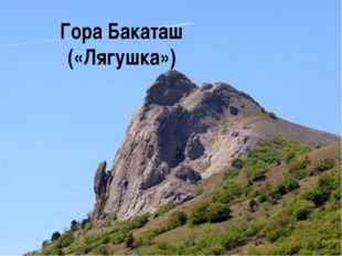 Гора Бакаташ («Лягушка»)