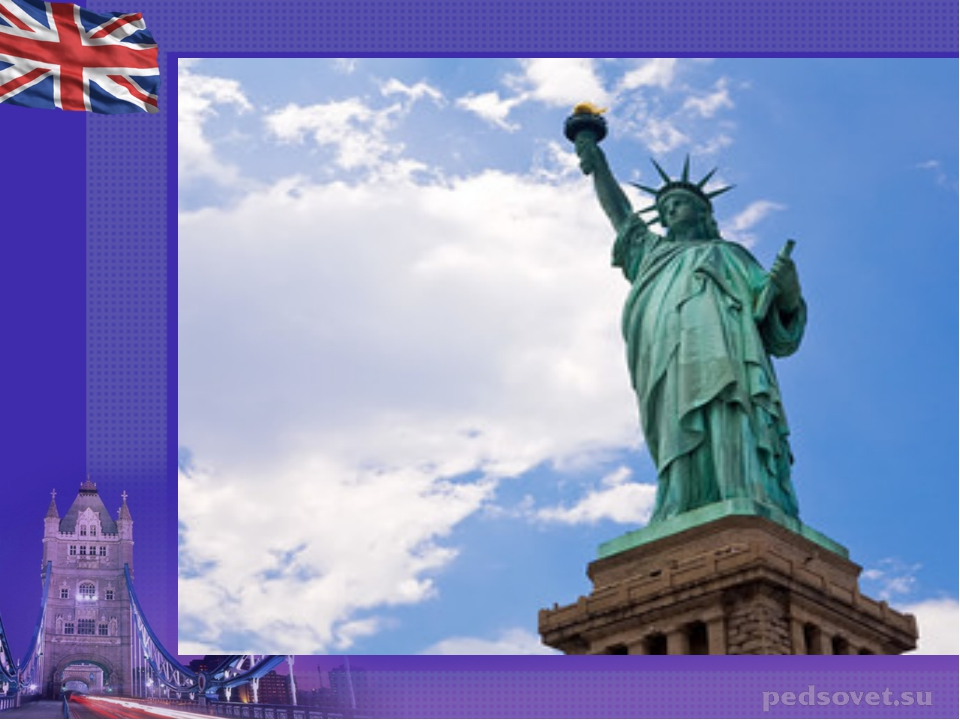 Какой монумент французский народ подарил американскому народу?