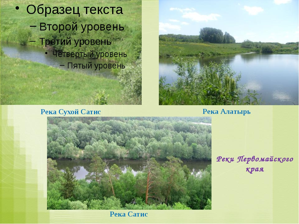 Река Сухой Сатис Река Алатырь Река Сатис Реки Первомайского края