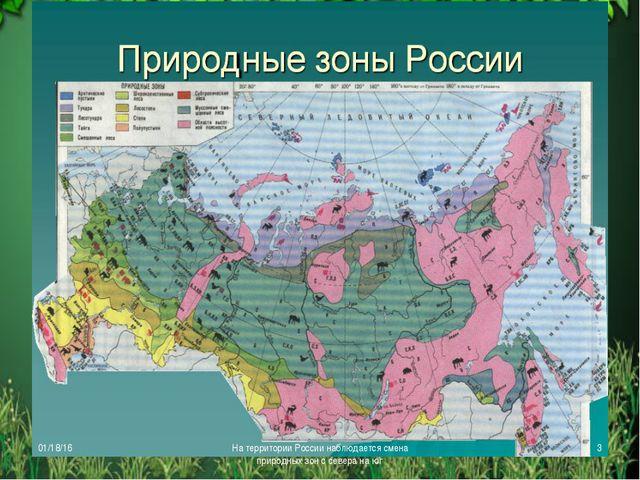Урок географии 8 класс природные зоны