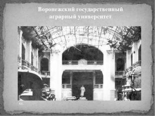 Воронежский государственный аграрный университет 66.