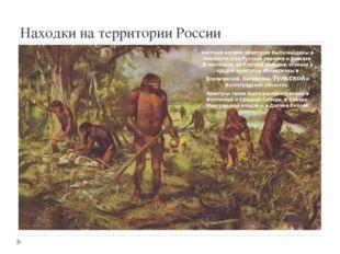 Находки на территории России Костные остатки эректусов были найдены в том чи