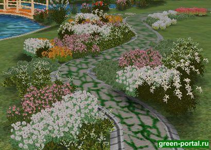 Площадь грамотный ландшафтный дизайн дело подпорных стенок гротов пандусов которые