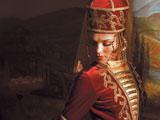 Сати Казанова в кабардинском костюме