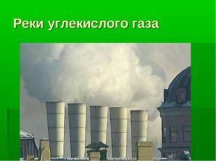 Реки углекислого газа