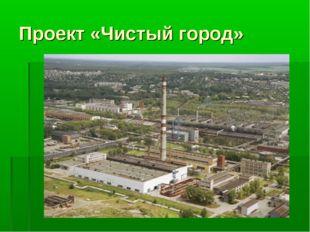 Проект «Чистый город»