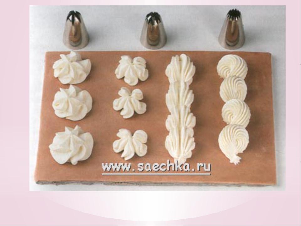 мщ какого крема сделать розы для декорации торта.