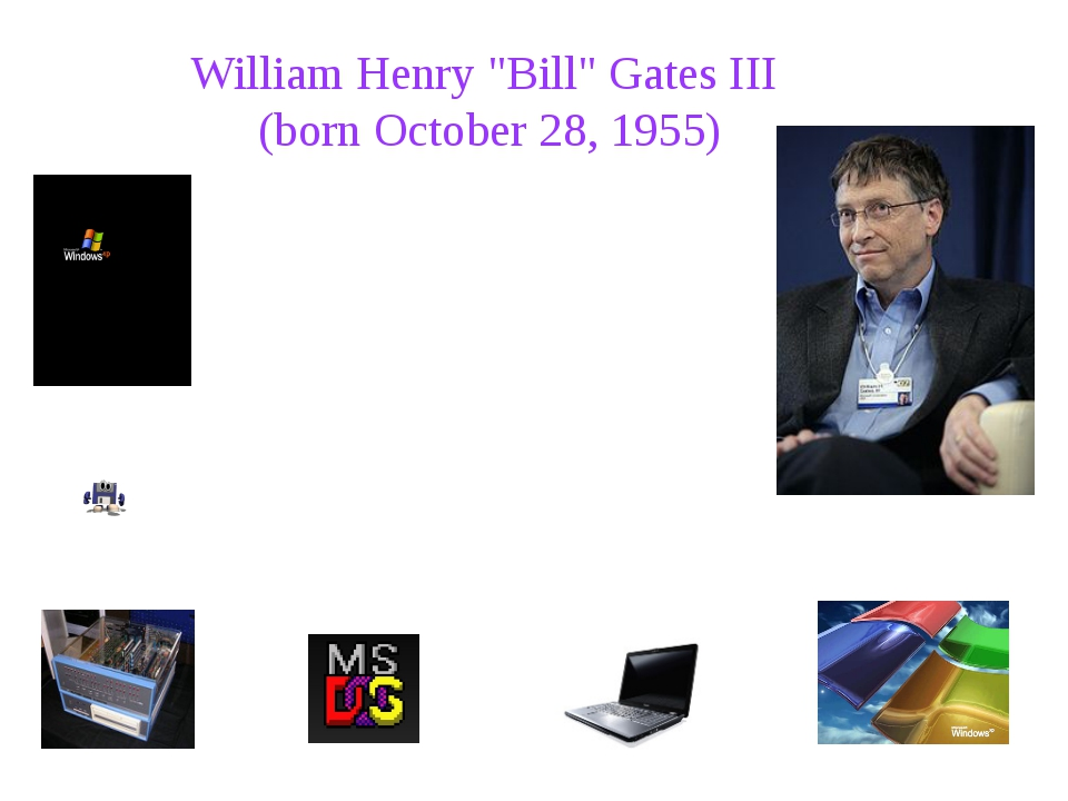 a biography and life work of william henry gates iii head of the microsoft company William henry gates the iii, is also referred as the king of software he cofounder the microsoft corporation, the largest computer software company gates is an american business executive officer of microsoft.
