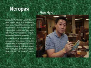 История Чон Чунг История Рейнбоу Лум началась в 2010 году. Чон Чунг, иммигран