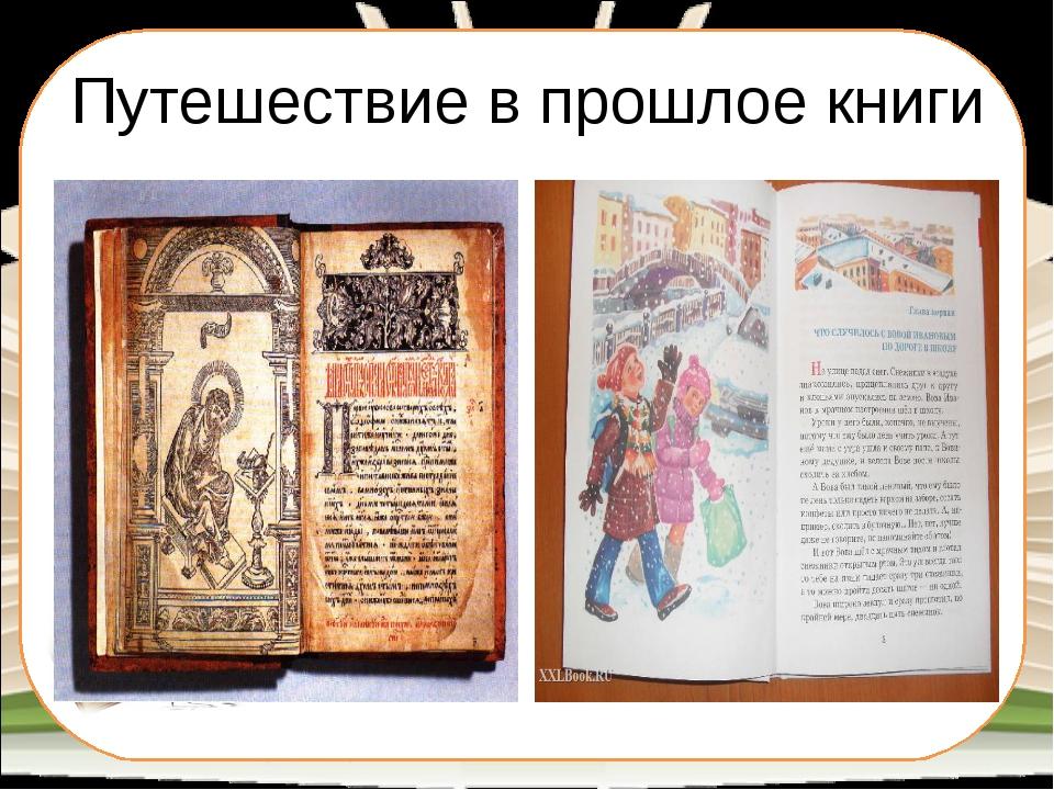 Путешествие в прошлое книги