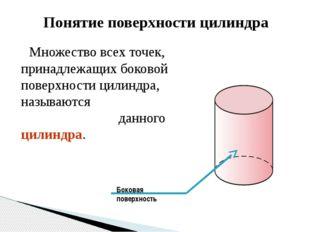 Вывод: Полную поверхность цилиндра составляет боковая поверхность и два основ