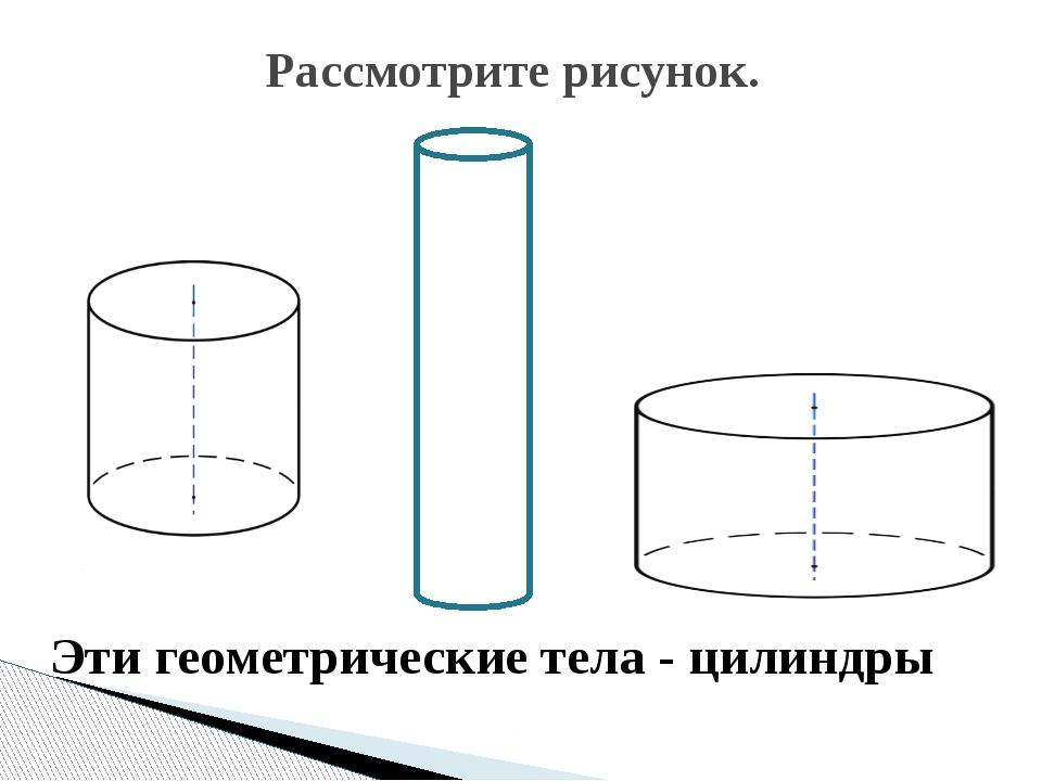 для выполнения цилиндр картинки в геометрии считает, что