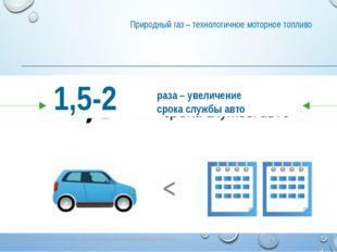 Природный газ – технологичное моторное топливо ПРИРОДНЫЙ ГАЗ – ЭКОЛОГИЧНОЕ МО