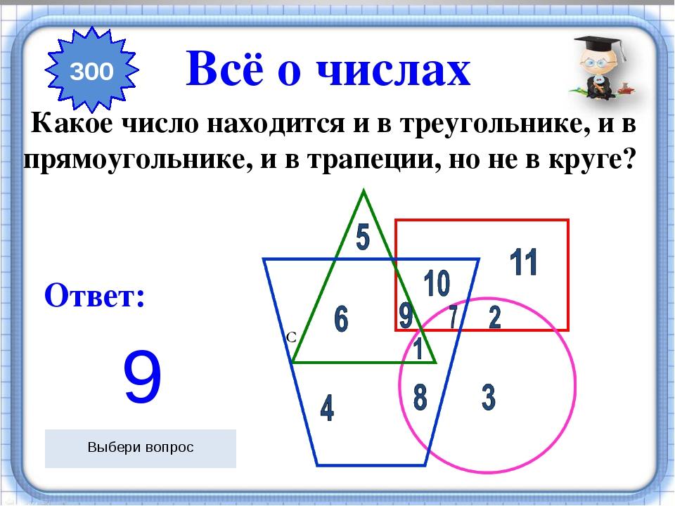 Ответ: Как нужно разрезать циферблат на 6 частей так, чтобы во всех частях с...