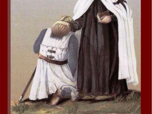 В отличие от братьев-рыцарей священники в силу своего статуса не принимали уч