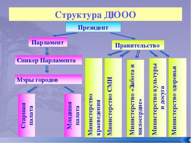 Структура ДЮОО