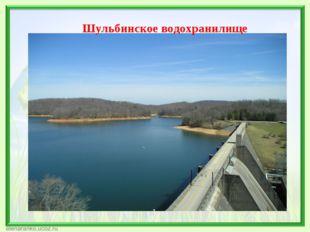 Шульбинское водохранилище