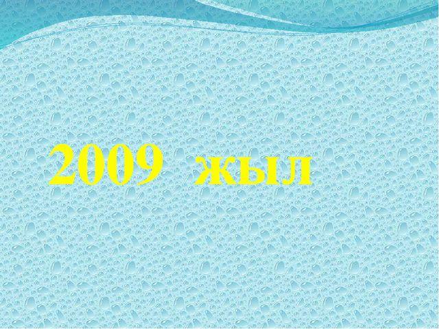 2009 жыл