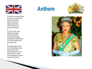 God save our gracious Queen, Long live our noble Queen, God save the Queen: S