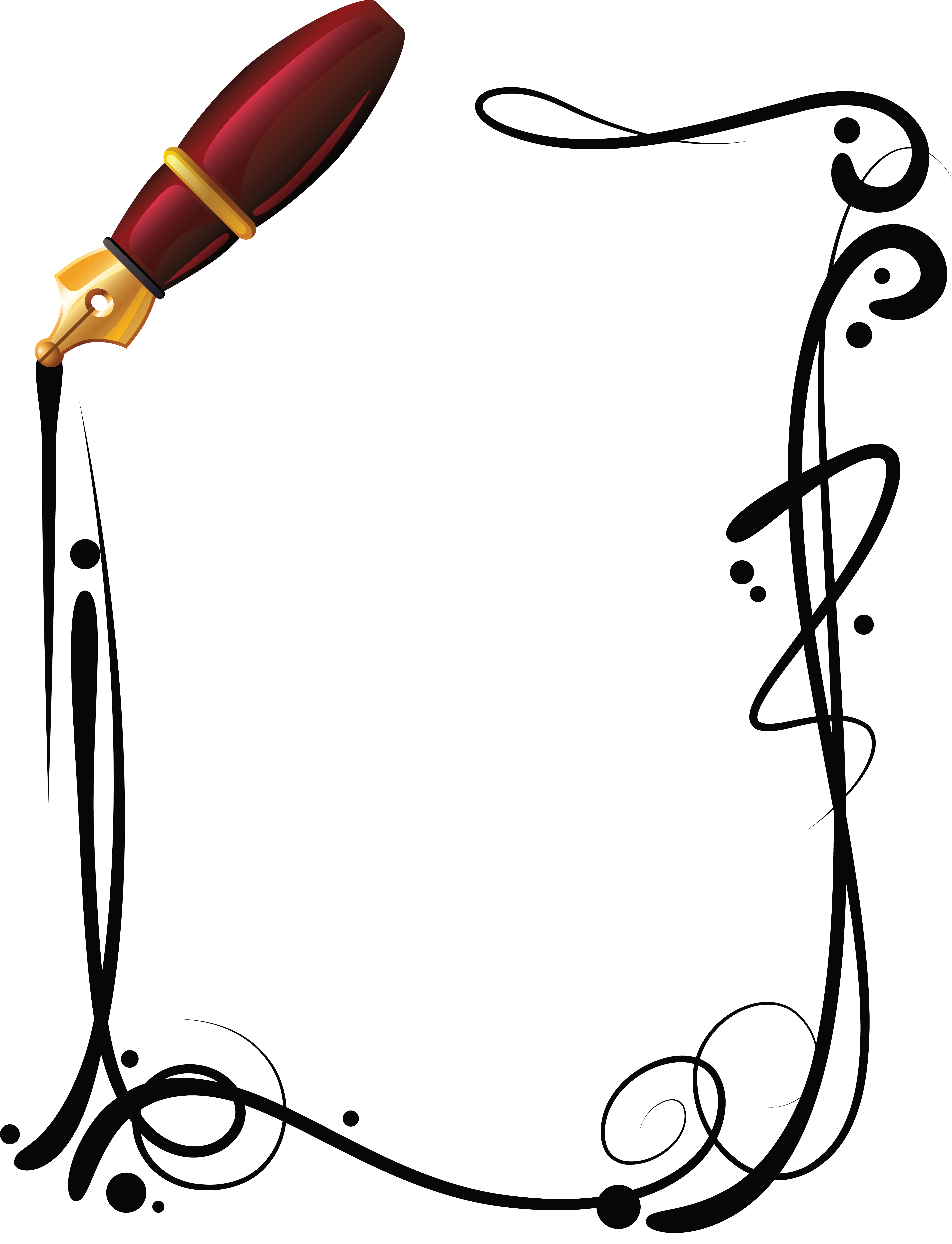 F:\Документы\Фоны оформление\фото рамки\рамка ручка.png