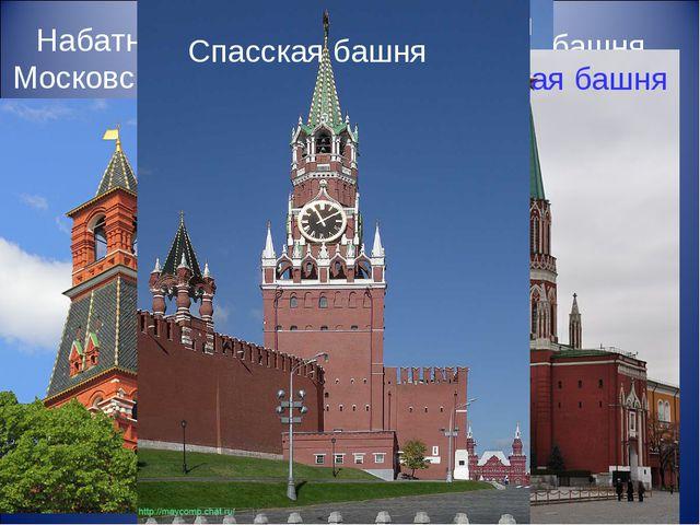 Набатная башня Московского Кремля Троицкая башня Московского Кремля Беклемише...