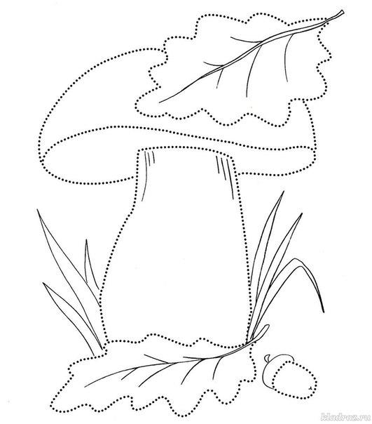 Осенние рисунки раскраски