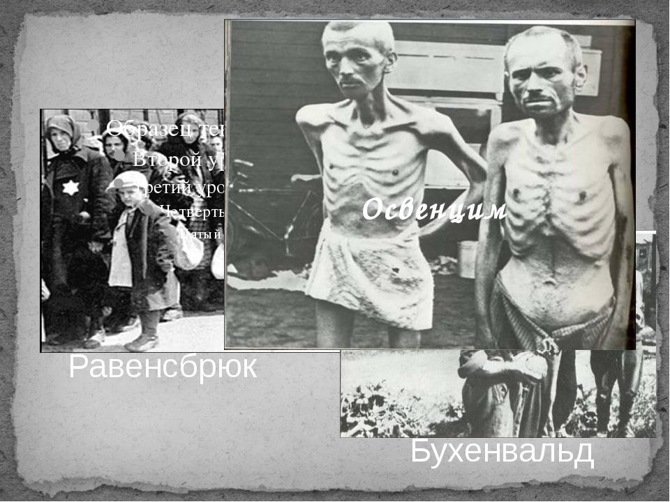 Равенсбрюк Бухенвальд Освенцим