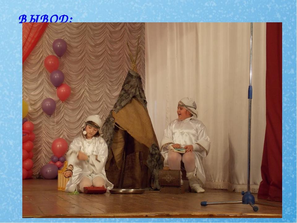 ВЫВОД: Дети, вовлеченные в театрально-игровое творчество, с удовольствием пог...