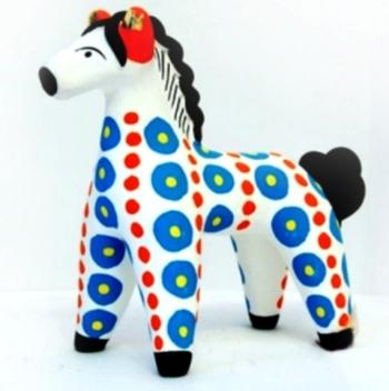 Старинный промысел России - дымковская игрушка - ( Мастер классы, уроки, новости, видео, фотографии ) - ручная работа, handmade