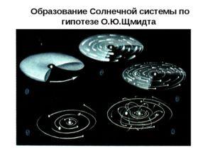 Образование Солнечной системы по гипотезе О.Ю.Щмидта