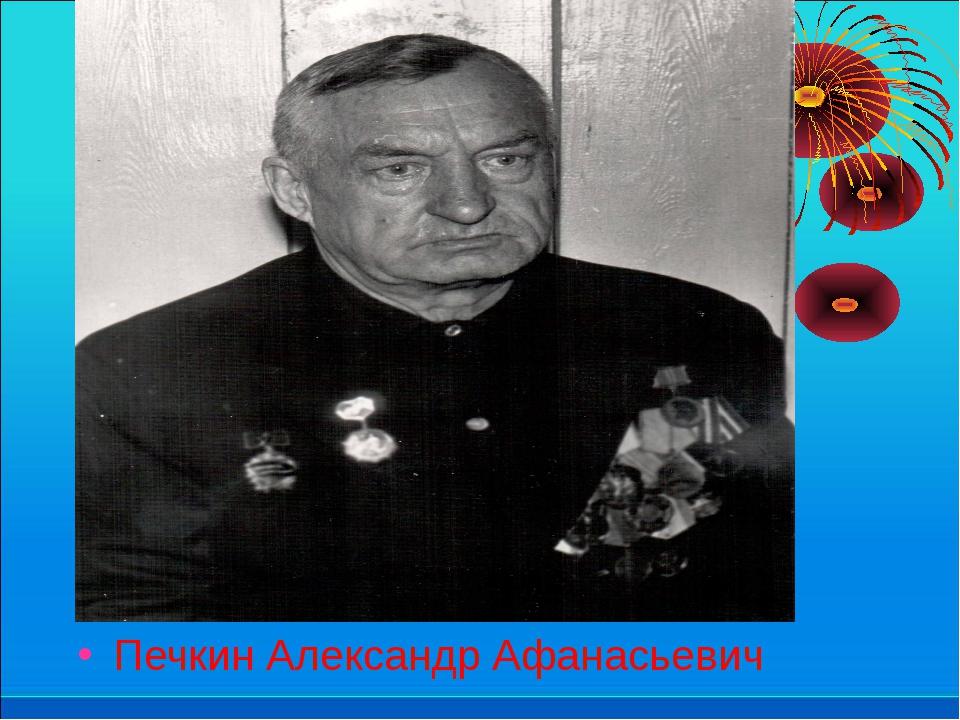Печкин Александр Афанасьевич